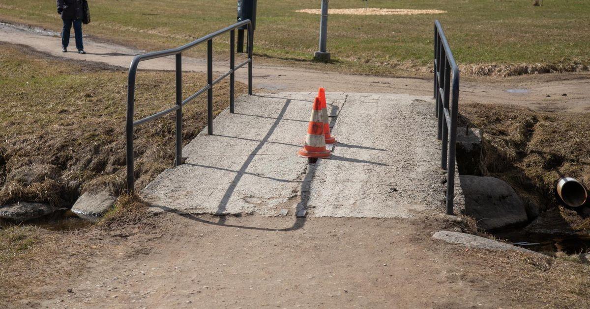 Viljandi ojadel sillad lagunevad, kuid need tehakse korda
