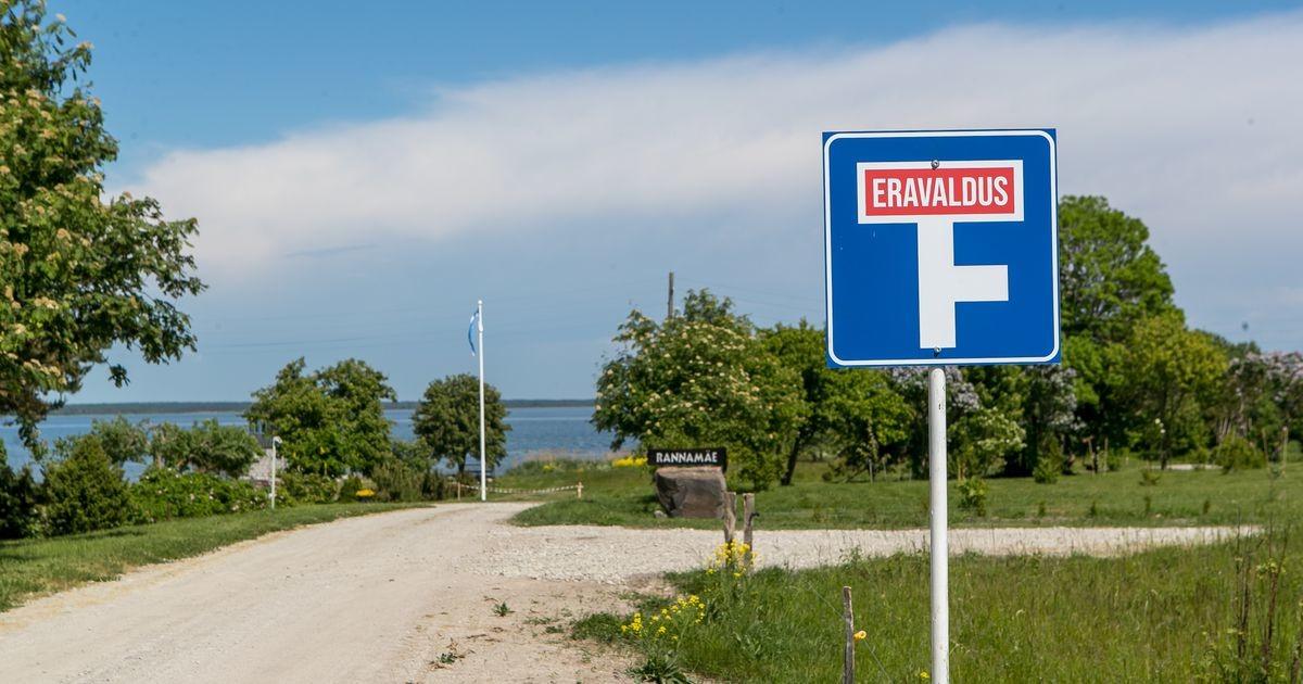 Vätta külade selts: maaomanik sulges pääsu ainsasse supluskohta