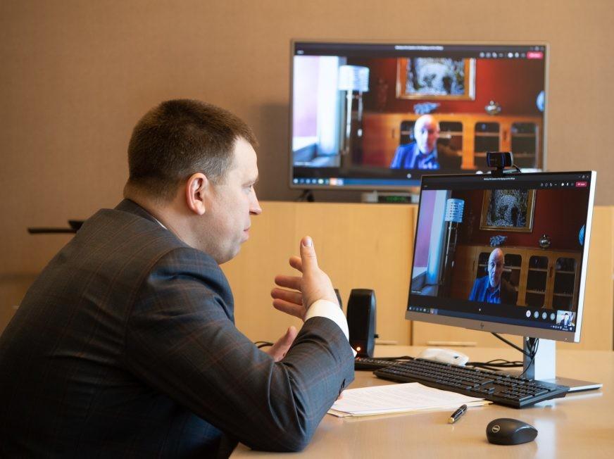 Riigikogu esimees rääkis Islandi ametikaaslasega Põhja- ja Baltimaade koostööst
