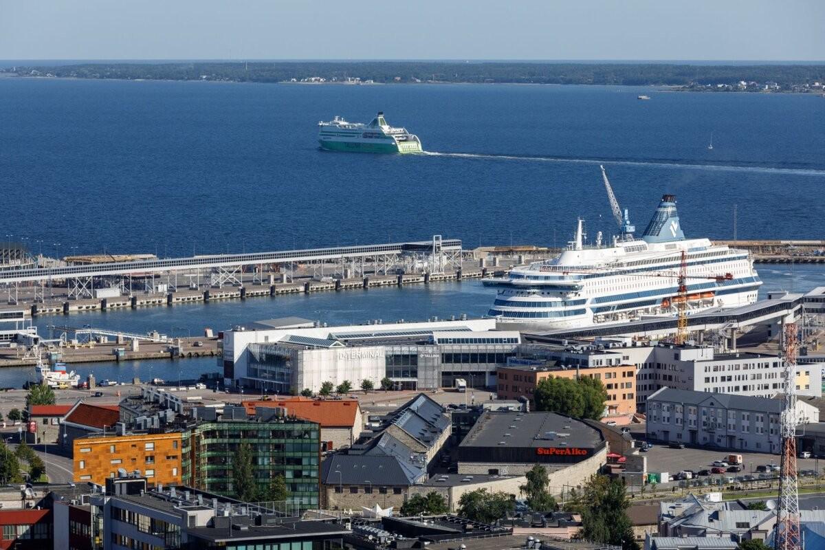 Tallinna Sadama kaubamaht kasvas, kuid reisijaid oli endiselt napilt