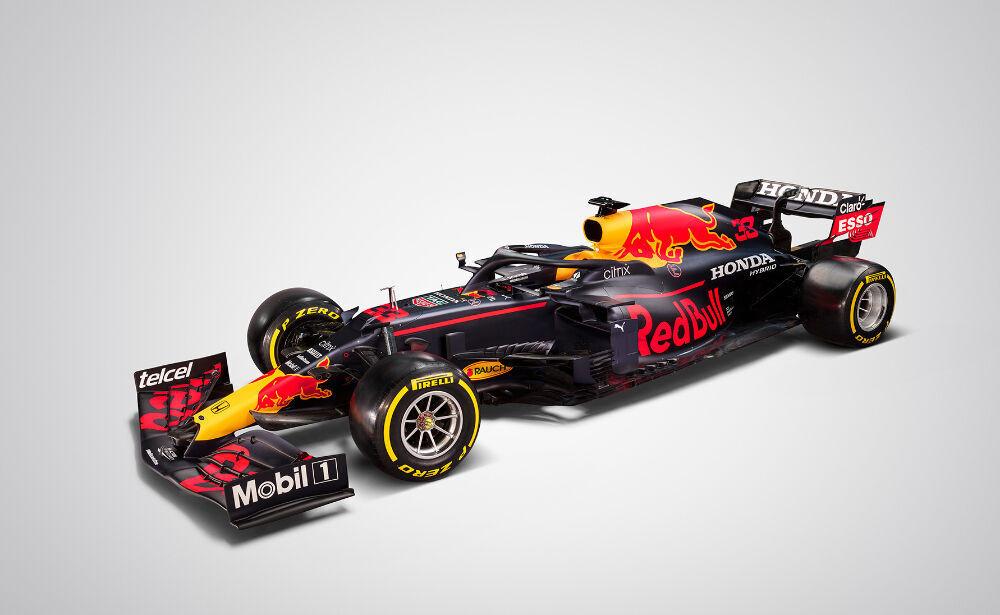 Red Bull avaldas pildid tänavusest F1 autost