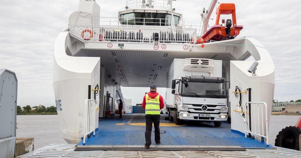 Tugev tuul häirib laevaliiklust väikesaare liinidel