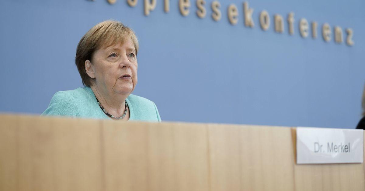 Merkel on mures koroonaviiruse juhtude eksponentsiaalse kasvu pärast Saksamaal