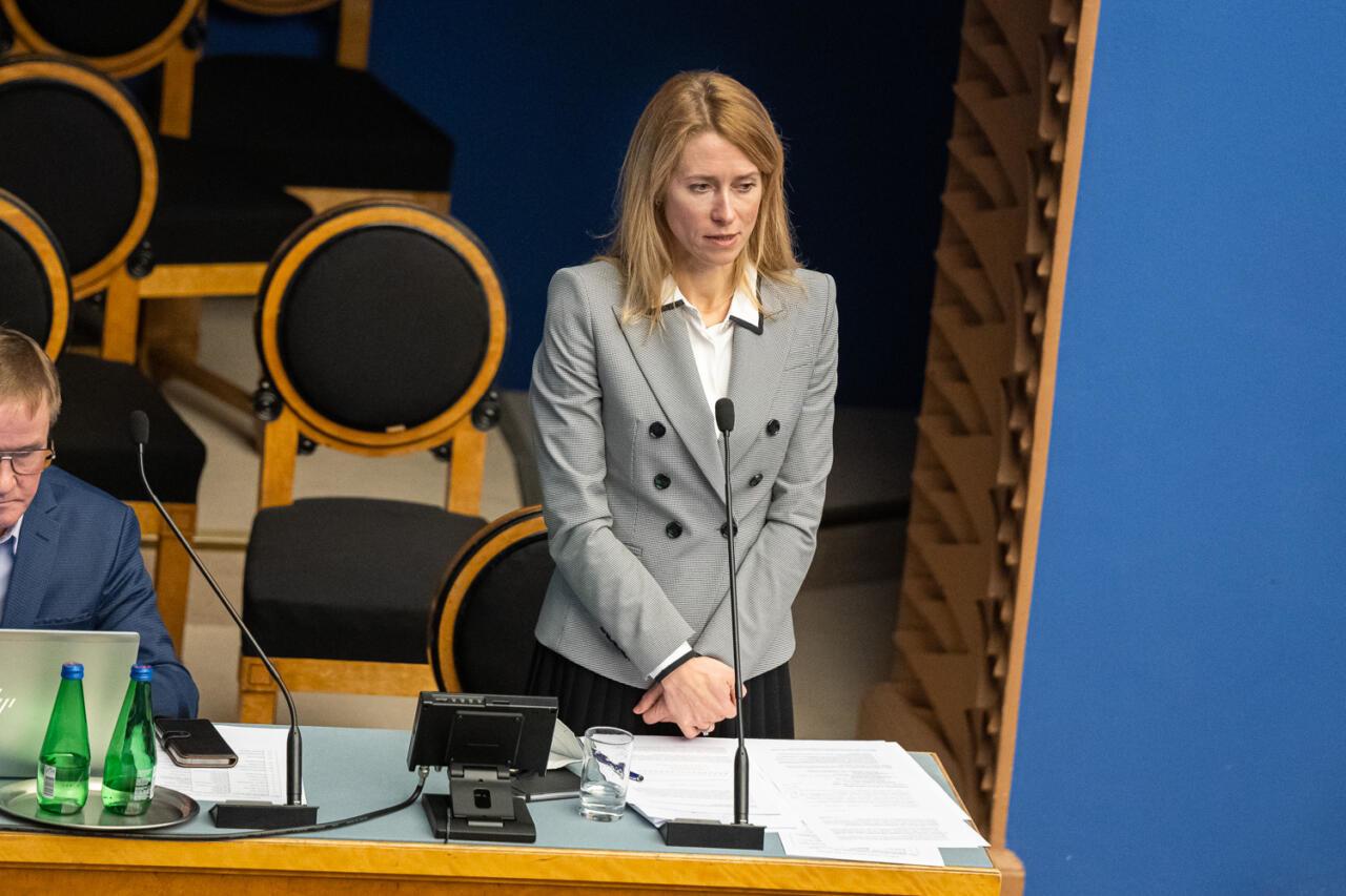 Ikka sama jama: Kaja Kallas ei suvatse Riigikogu ette kriisist rääkima tulla