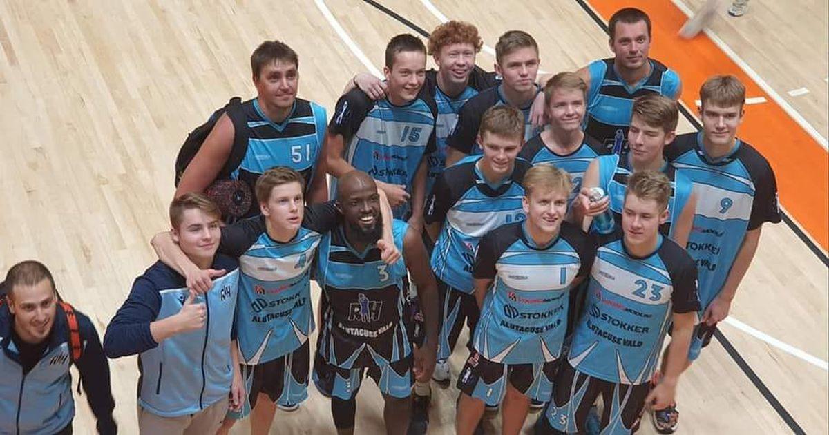 Reinar Halliku korvpallikooli meeskond tõusis napi võiduga esiliigasse