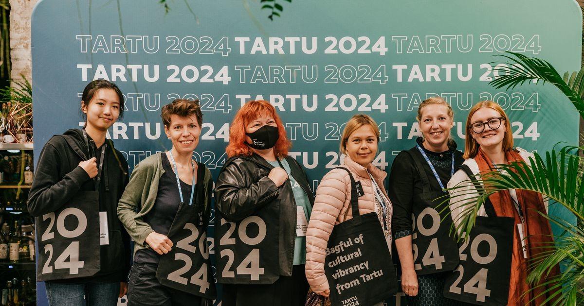 Tartu 2024 meeskond tänas vabatahtlikke