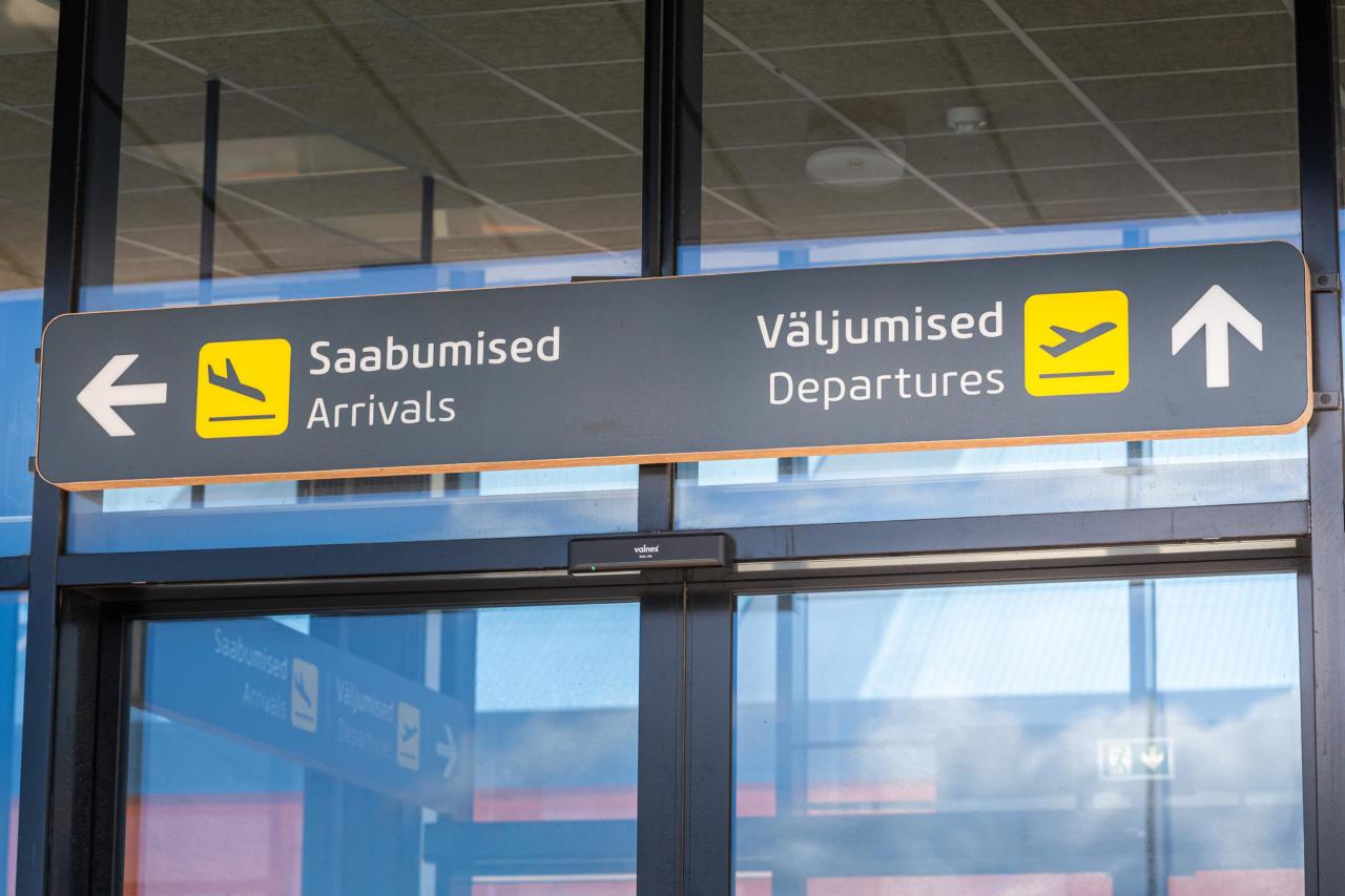 Lennupilet Saaremaale on ingliskeelne – nii palju rahvusriigist