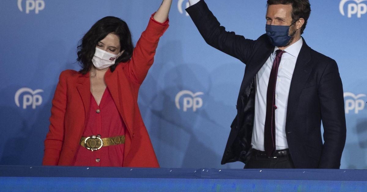 Madridi valimistel saatis edu piirangutevastaseid parempoolseid