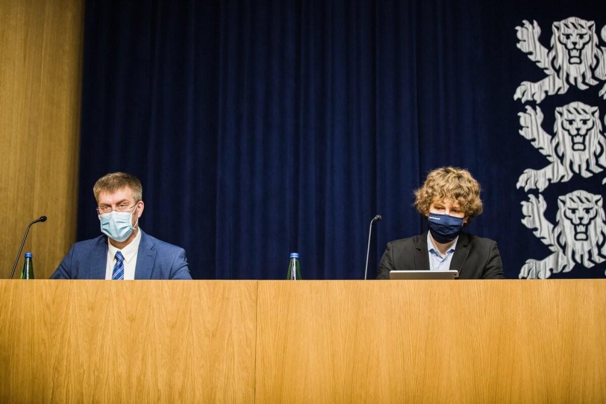 Tanel Kiik: Üllar Lanno on teinud väga head tööd, terviseameti juhti vahetada plaanis pole