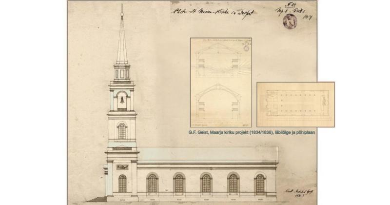 Maarja kiriku kellahelin kaikus Luunjani