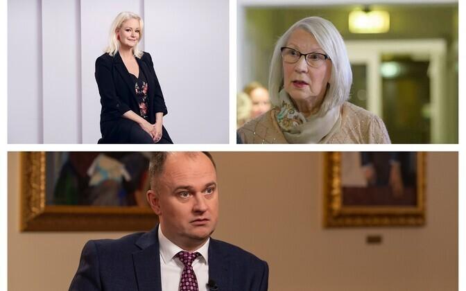 ERR-ist pälvis presidendilt teenetemärgi neli inimest