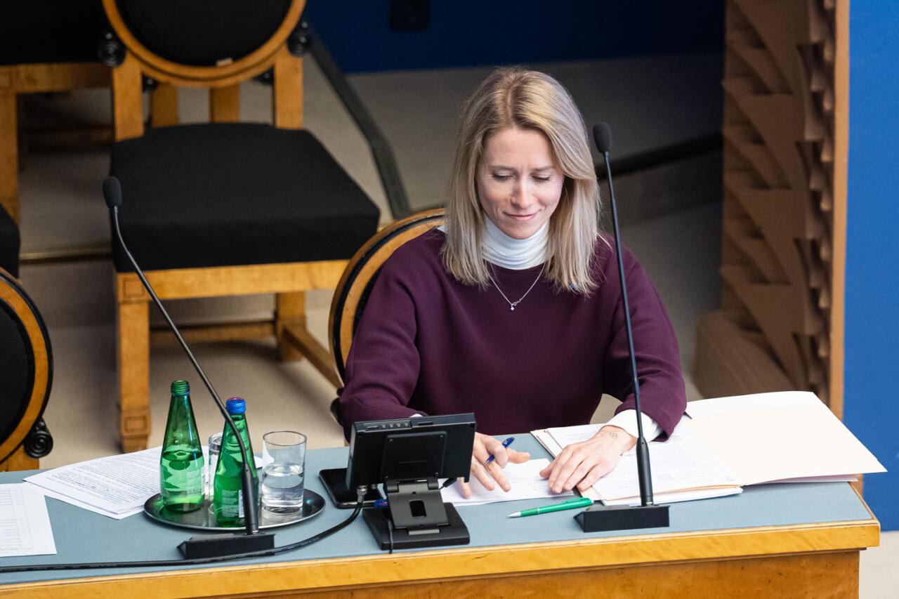 Kaja Kallas viskas eelmised peaministrid ajaloo prügikasti