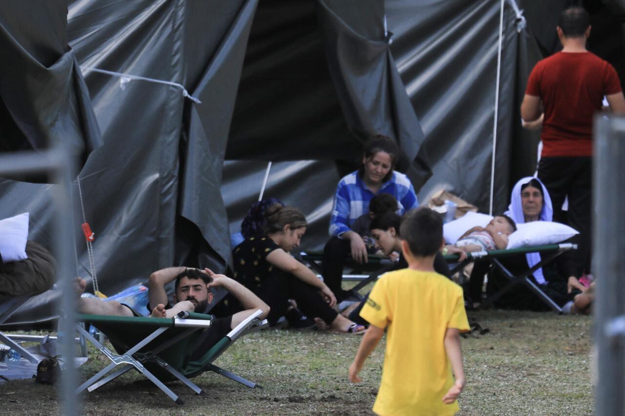 Migrantide lastele anti tablette, et nad Leedu piiri ületades vait oleks