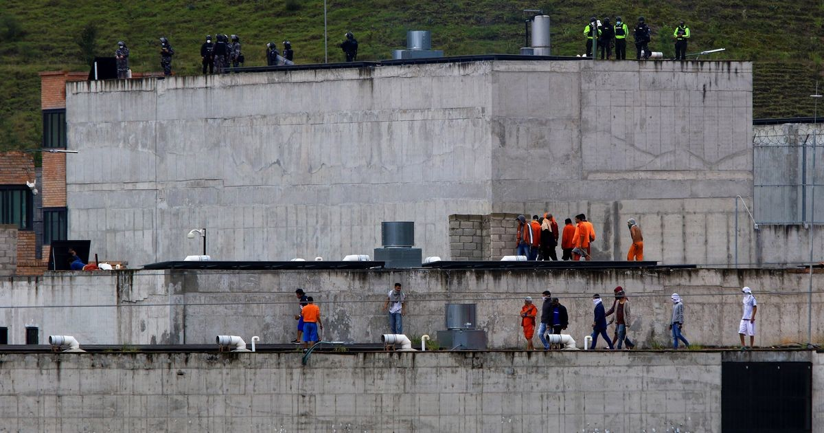 Ecuadori vanglamässudes hukkus vähemalt 62 kinnipeetavat