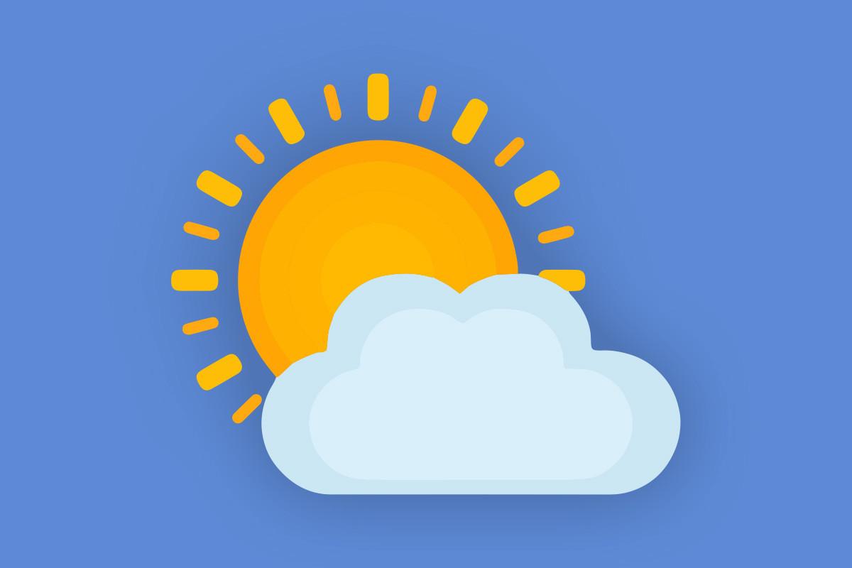 Täna, 5. mail 2021 on pilves selgimistega ilm