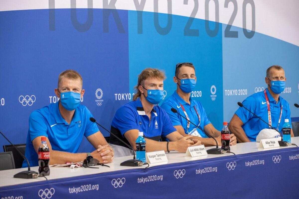 TÄNA VARAHOMMIKUL OTSEBLOGI   Kas Eesti neljapaat pääseb Tokyos otse finaali?