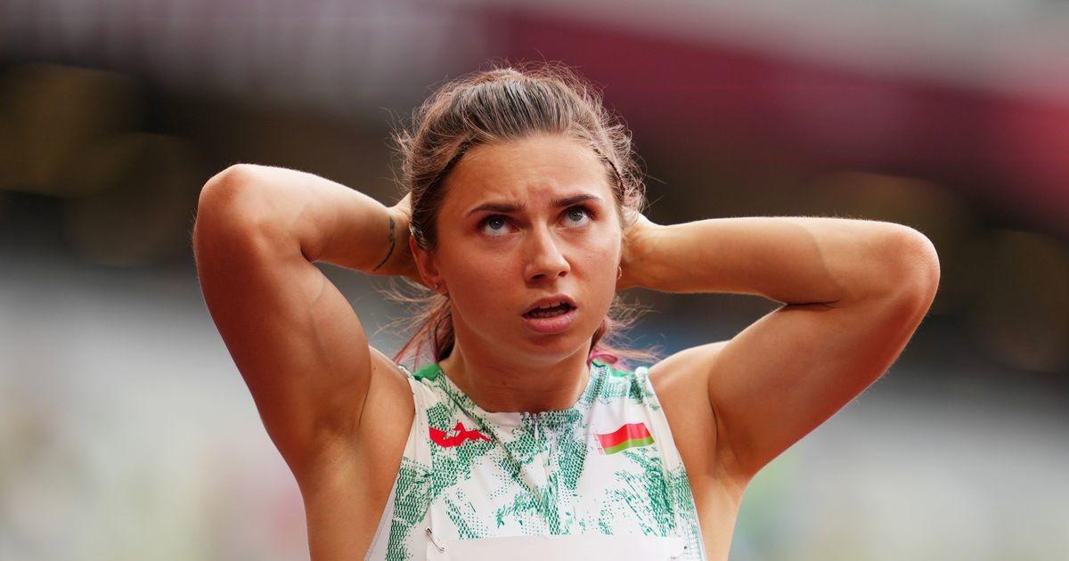 Valgevenelanna tahetakse olümpialt vägisi kodumaale saata, kuid sportlane punnib vastu