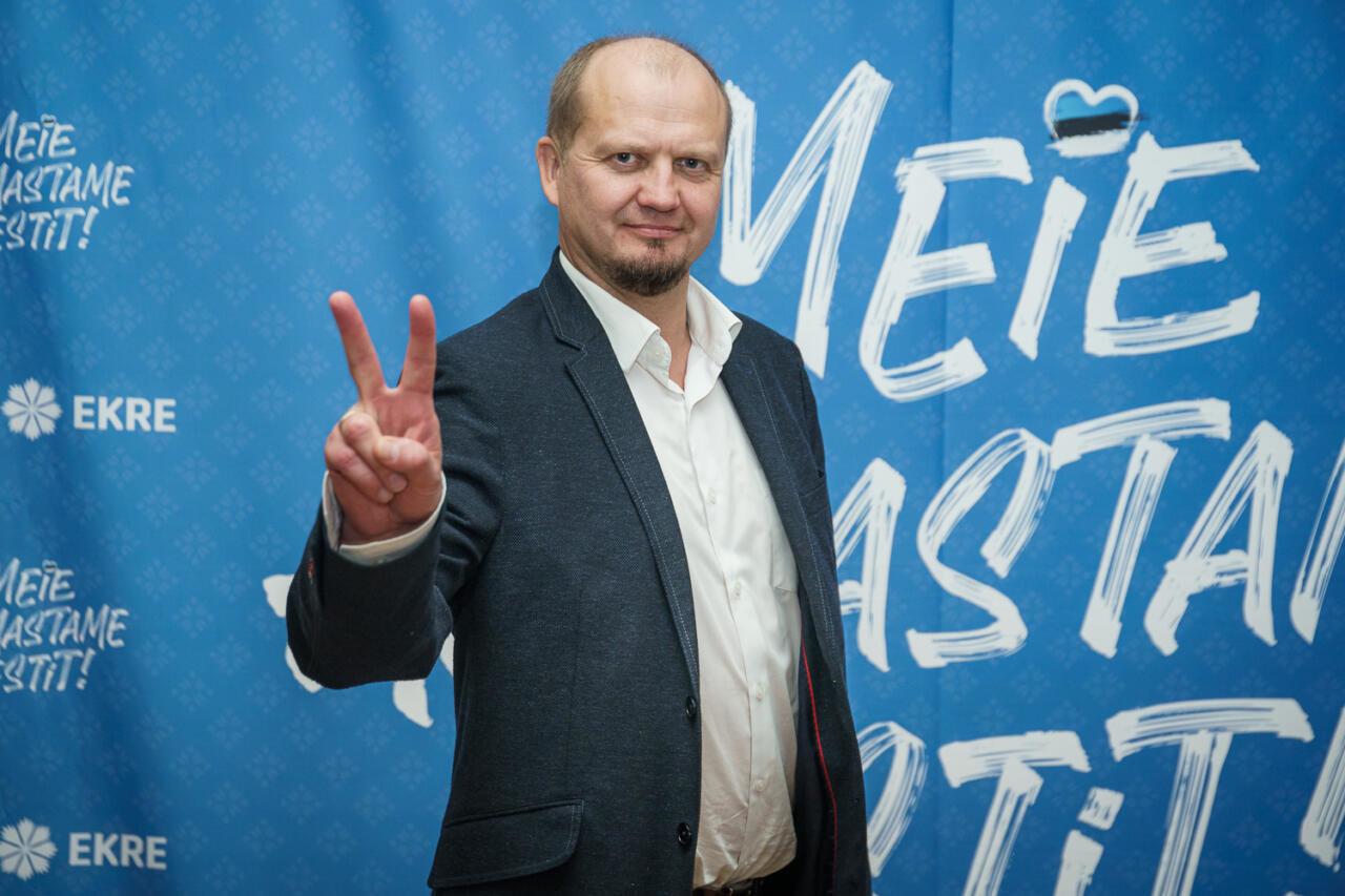 EKRE linnapeakandidaat Rakveres on Anti Poolamets