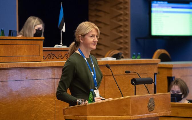 Otse kell 12: riigikogu infotunnis Kallas, Kersna ja Liimets