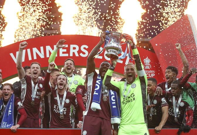 Leicester tuli klubi ajaloos esimest korda Inglismaa karikavõitjaks