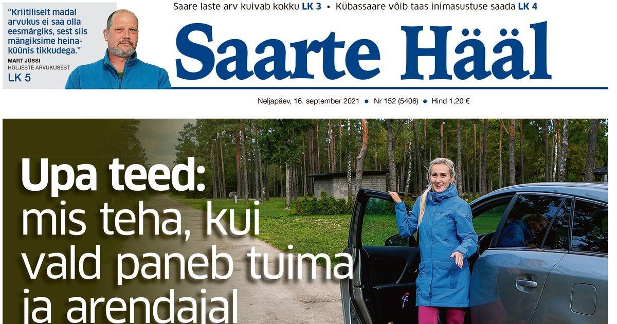 Saarte Hääl 16. september 2021