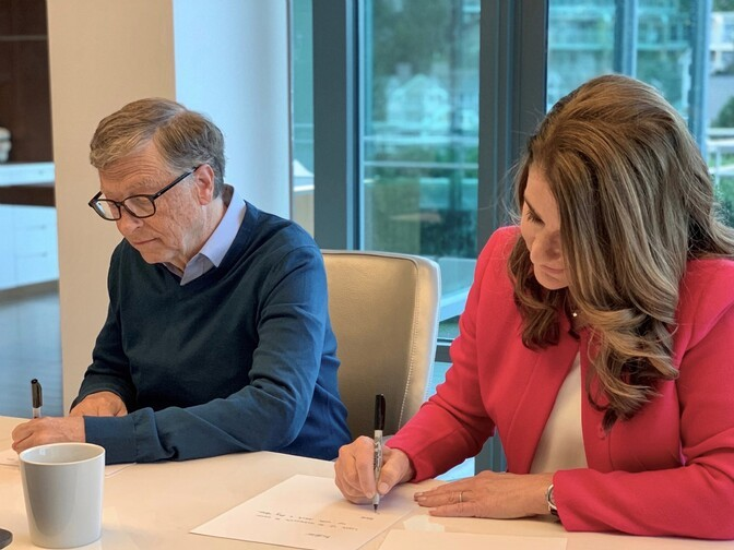 Meedia: Bill ja Melinda Gatesil puudub abieluvaraleping