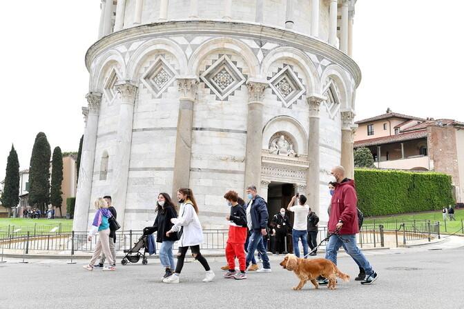 Draghi: Itaalia on taas valmis turiste vastu võtma