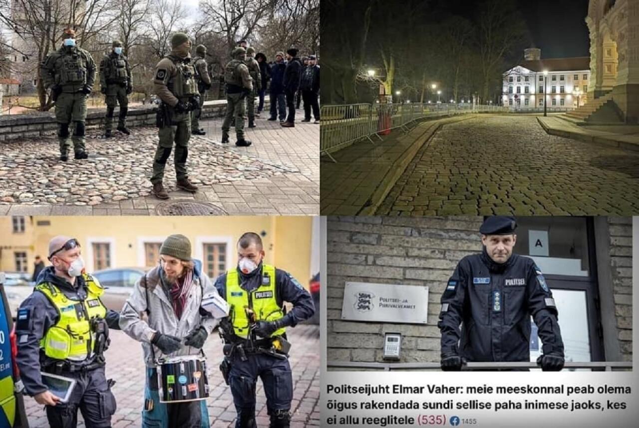 """Martin Helme: """"vaikivat ajastut"""" kehtestav Kaja Kallase valitsus tõi Valgevene repressioonid ka meie tänavatele"""