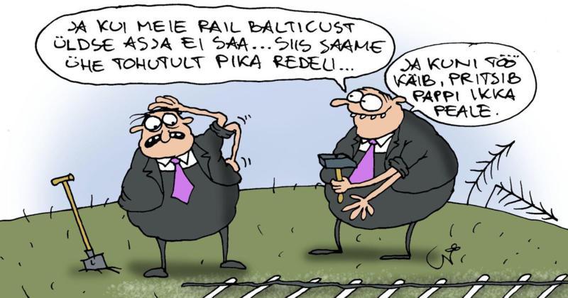 Rail Balticu soss-sepad