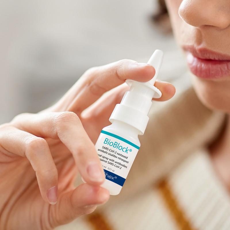 Huvilised ostsid apteegid koroonavastasest ninaspreist tühjaks
