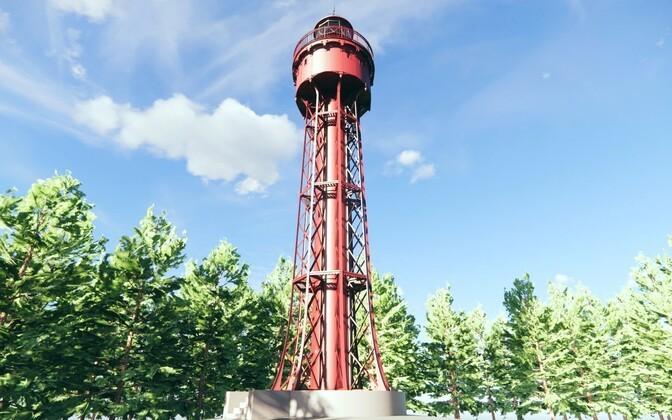Legend leidis kinnitust: Hiiumaa Ristna tuletorn pärineb Pariisist Eiffeli ateljeest
