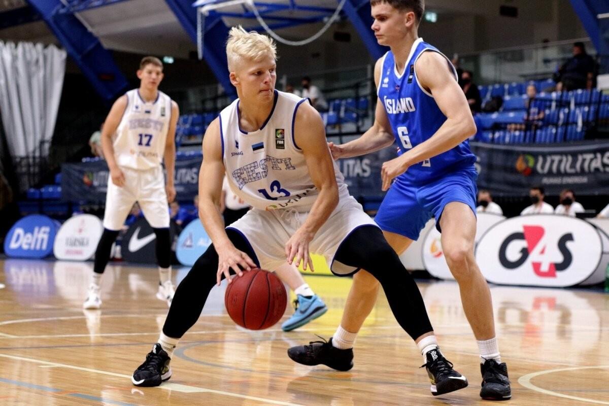 Eesti U20 korvpallikoondis võitis Soomet ning pääses Nordic Cupi finaali