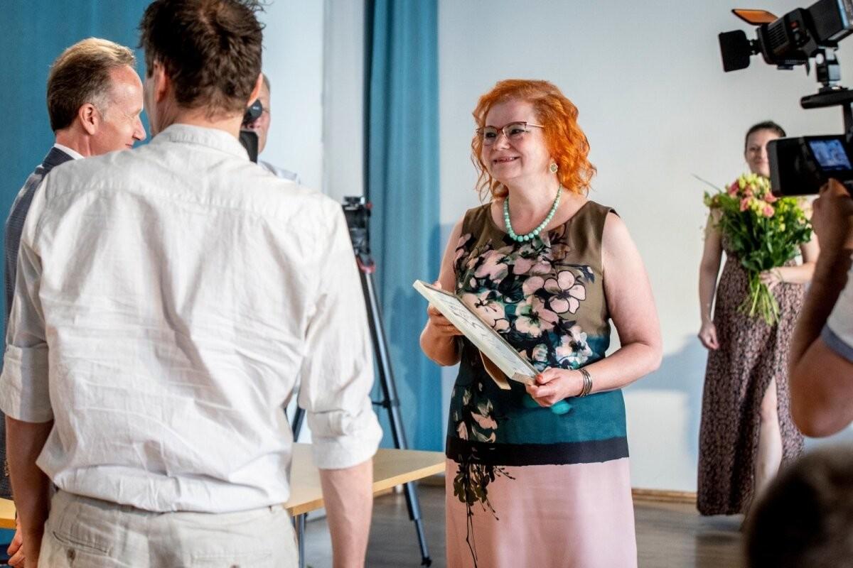 FOTOD | Eesti Kirjanike Liidu romaanivõistlusel anti välja kaks esikohta