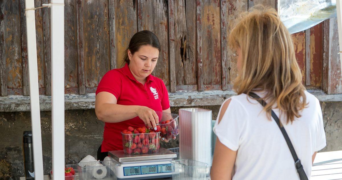 Saaremaine maasikas jõudis turule