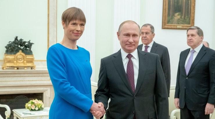 Vladimir Putin soovis Eesti elanikele õnne, heaolu ja edu