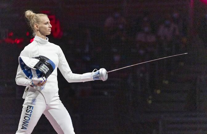 Katrina Lehis pälvis Tokyo olümpiamängudel pronksmedali
