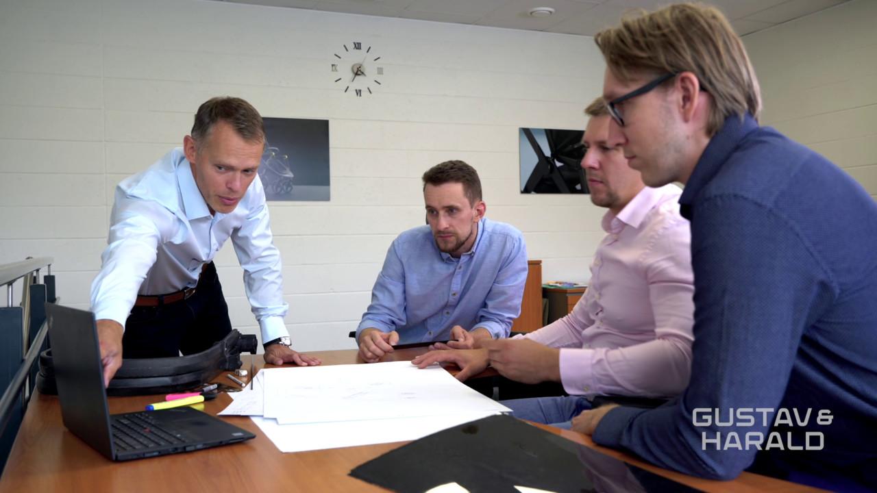 Maailma kergeimat vankrit loova ettevõtte Gustav & Harald asutajad said inspiratsiooni enda lastelt