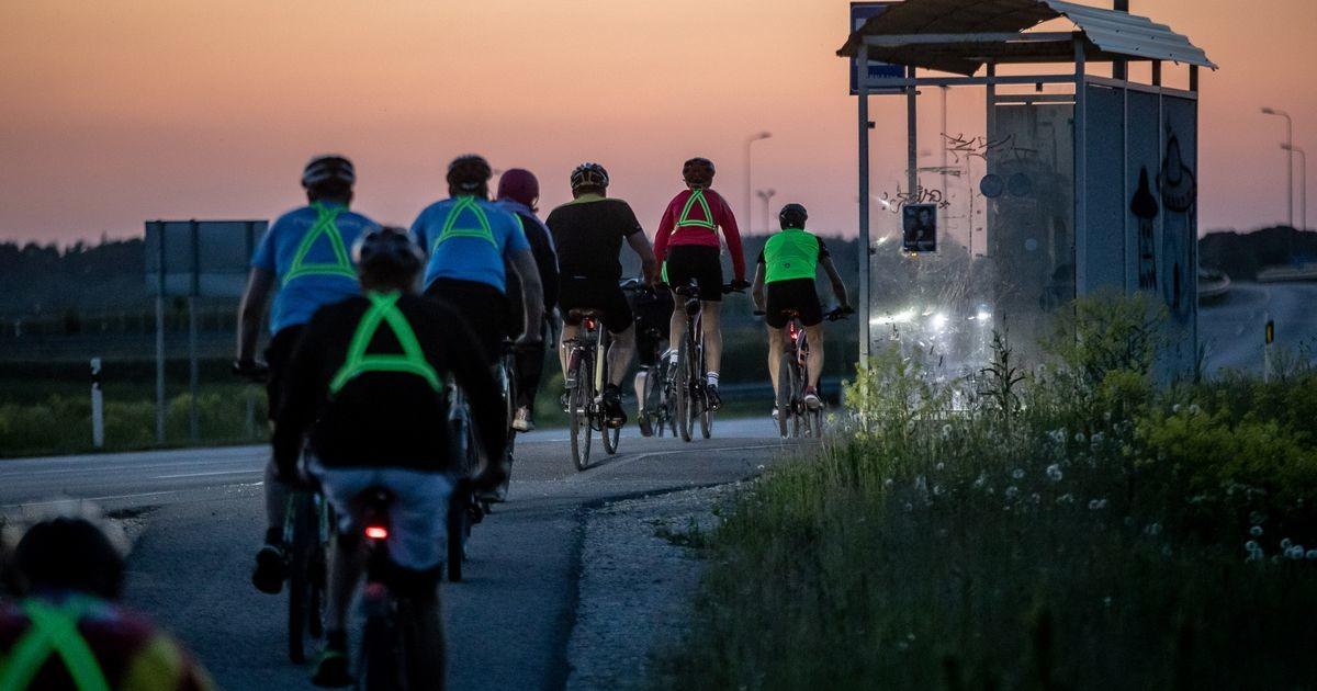 Viiepäevane velotuur lõpetas Tallinnas tulede sähvides