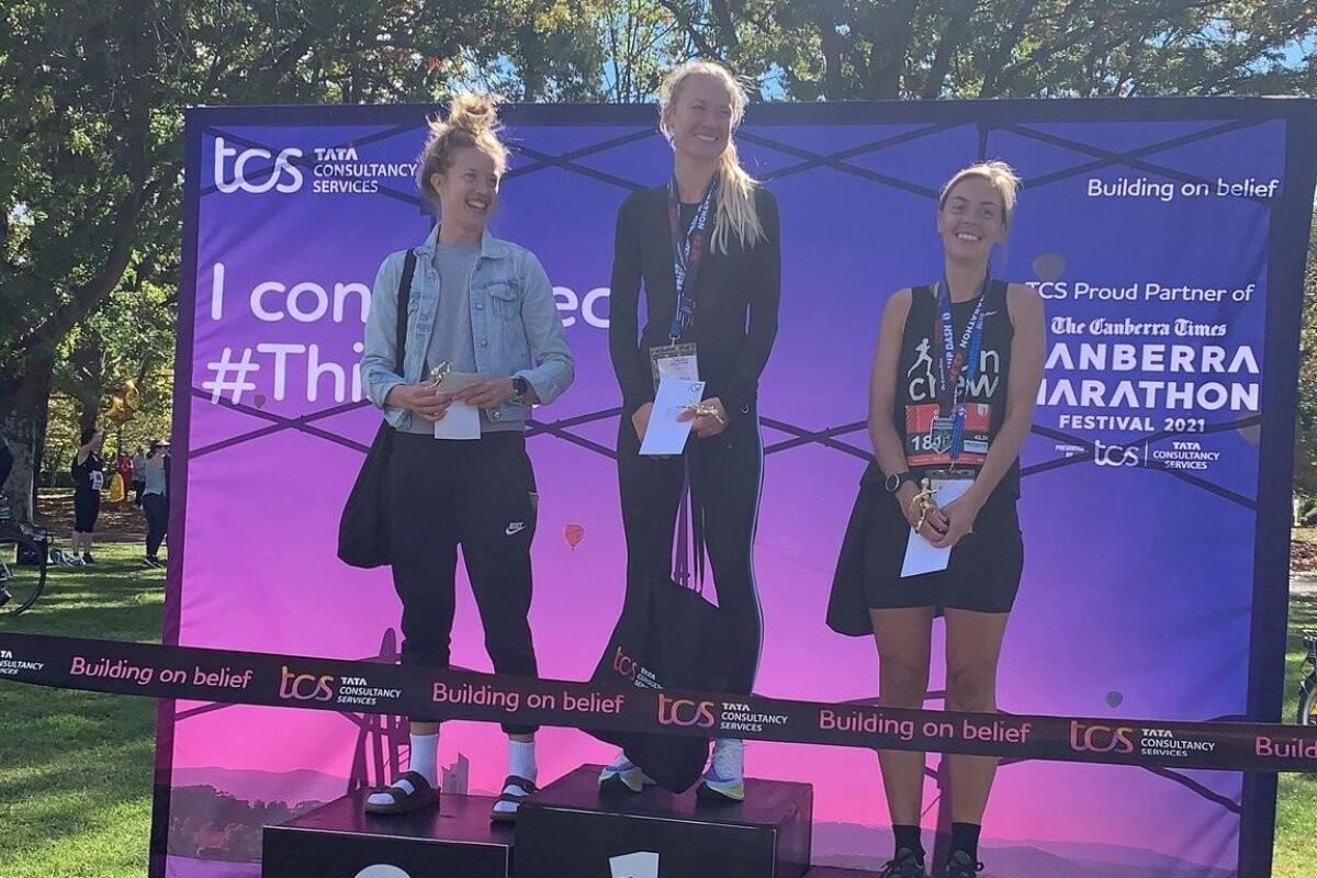 Eestlanna Riine Ringi võitis Austraalias Canberra maratoni Eesti kõigi aegade üheksanda ajaga