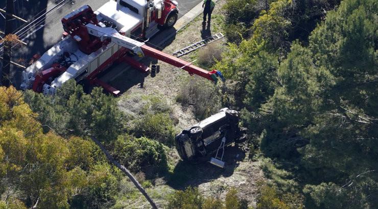 Kohalik šerif Tiger Woodsi avariist: selles kohas juhtub palju õnnetusi