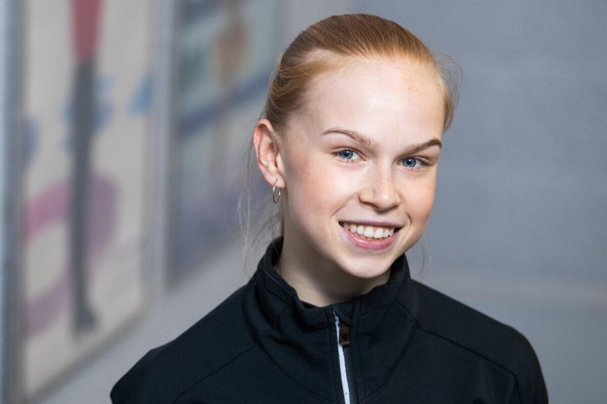 Iluuisutaja Eva-Lotta Kiibus on enda sõnul täitsa tavaline teismeline: armuelu tõttu on ta veetnud unetuid öid