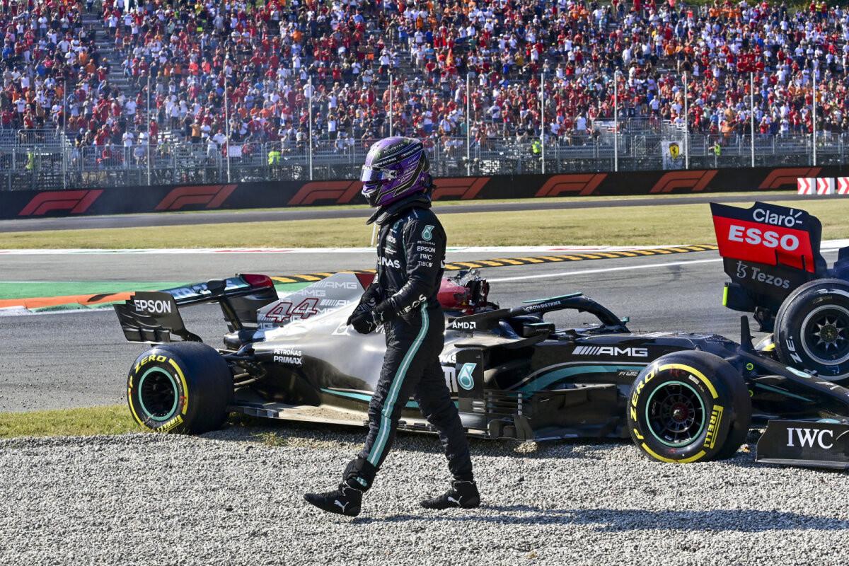 Red Bulli esindaja väidab, et Hamilton teeskles vigastust: see oli puhas näitemäng