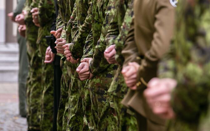 Alla 100 kaitseväelase ei esitanud tähtajaks koroonatõendit