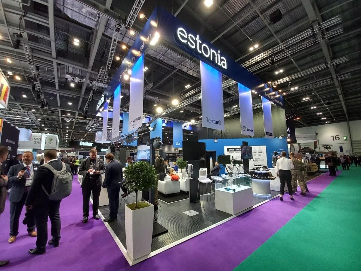 Eesti kaitsevaldkonna ettevõtted osalevad Londonis rahvusvahelisel ärimessil