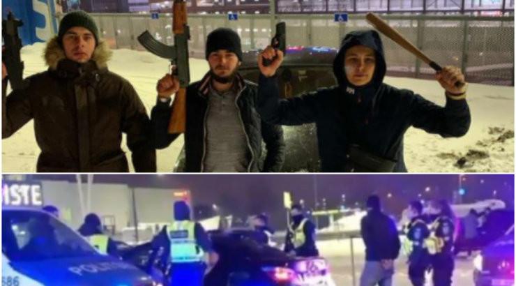 VIDEOD | Ülemiste kandis tiirutas öösel BMW, millest kõmmutati õhku laske. Politsei leidis masinast kolm relvataolist eset