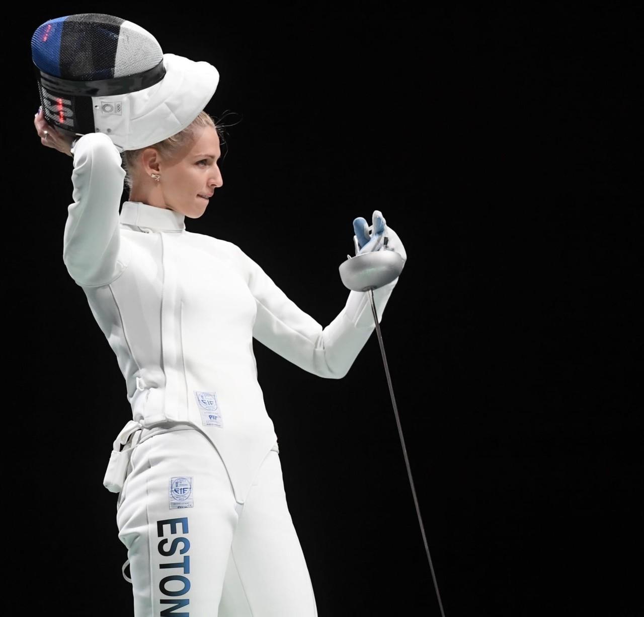Katrina Lehis sai Tokyo olümpiamängudel pronksmedali