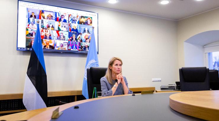 Kallas hoiatas ÜRO julgeolekunõukogus kliimamuutustest tingitud julgeolekuohtude eest