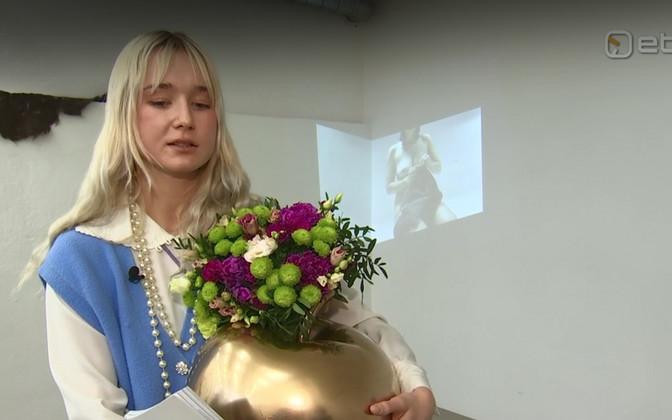 Noore skulptori auhinna pälvis Sarah Nõmm