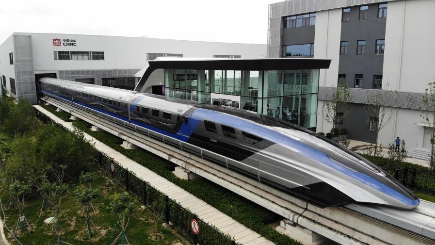 Hiinas ehitati maailma kõige kiirem rong, mis kasutab edasi liikumiseks magnetlevitatsiooni