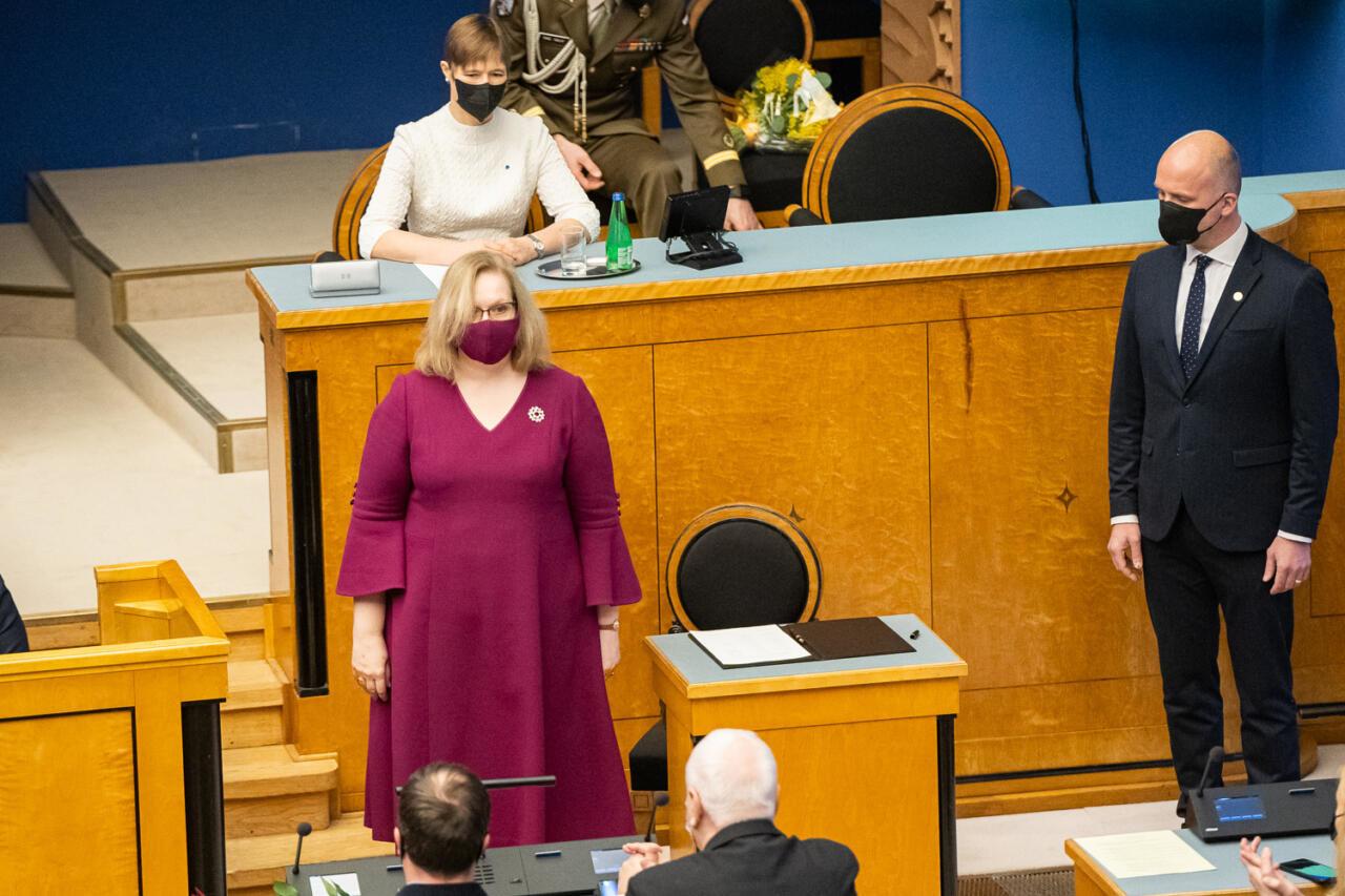 Justiitsminister Maris Lauri andis avalikult teada, et mõned tippametnikud on võrdsetest võrdsemad